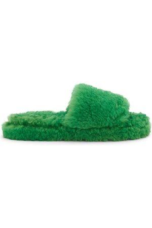 Bottega Veneta Wardrobe 02 Resort Shearling Slippers