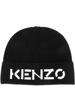 Kenzo Beanies - Logo print beanie