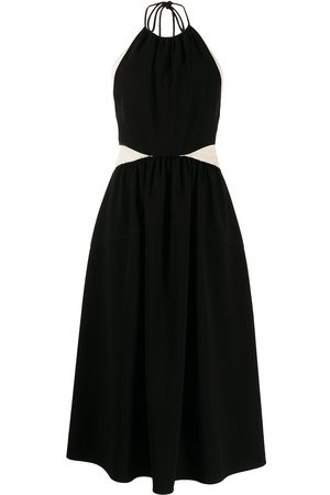 Proenza Schouler Panelled halterneck dress