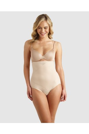 Miraclesuit Tummy Tuck High Waist Shaping Brief - Hipster Briefs (Nude) Tummy Tuck High-Waist Shaping Brief