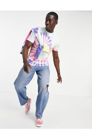 Vans Drop V spiral tie-dye short sleeve t-shirt in multi