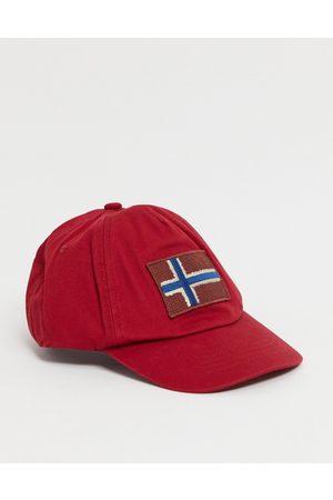 Napapijri Fontan cap in red