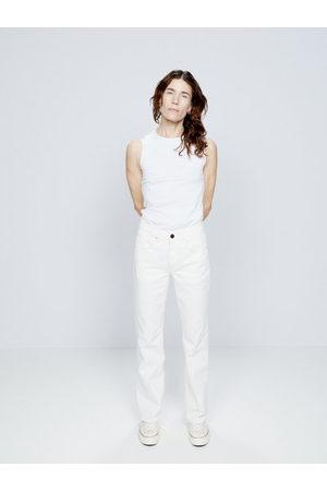 Erdem Vina Belted Straight-leg Jeans - Womens