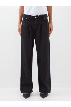 Raey - Fold Organic-cotton Dad Baggy Boyfriend Jeans - Womens