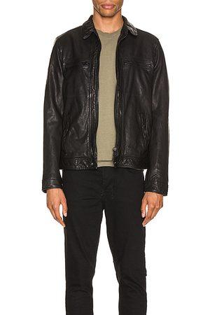 AllSaints Lark Leather Jacket in .