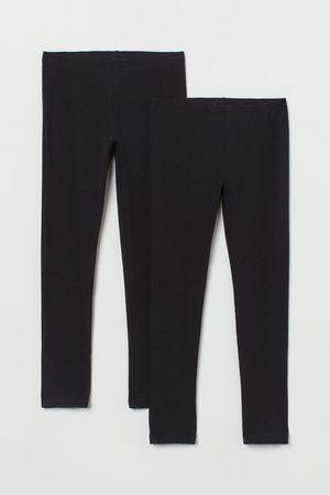 H&M Girls Leggings - 2-pack Leggings