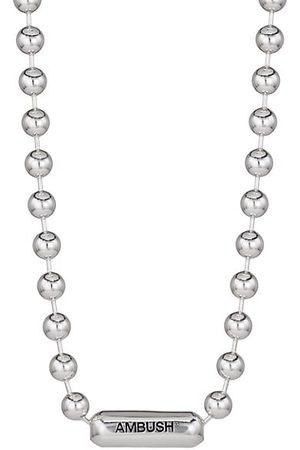 AMBUSH Men Necklaces - Ball Chain Logo Necklace