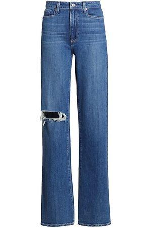 Paige Leenah High-Rise Wide-Leg Jeans