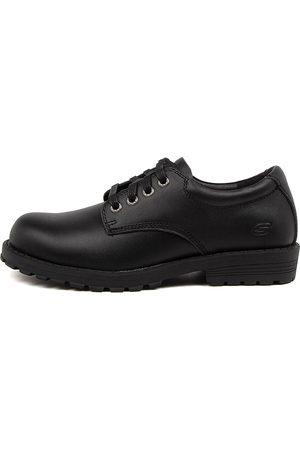 Skechers 405650 L Grommetz Jnr Sk Shoes Boys Shoes School Flat Shoes
