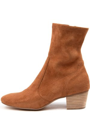 Mollini Karmony Mo Dk Tan Boots Womens Shoes Casual Ankle Boots