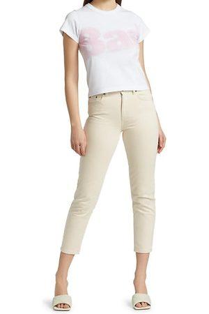 KSUBI Women Boyfriend - Dr3amstate Nine 0 High-Rise Cropped Jeans
