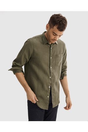COUNTRY ROAD Organically Grown Linen Shirt - Casual shirts Organically Grown Linen Shirt