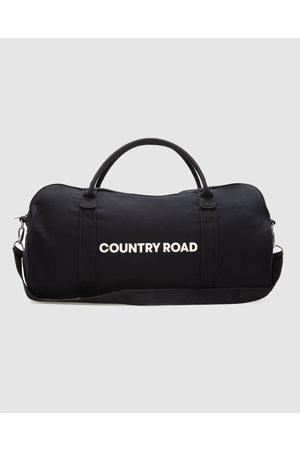 COUNTRY ROAD Zip Canvas Logo Tote - Bags Zip Canvas Logo Tote