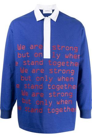 Ports V Polo Shirts - Slogan-print polo shirt