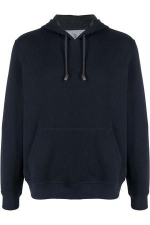 Brunello Cucinelli Pullover drawstring-hood hoodie