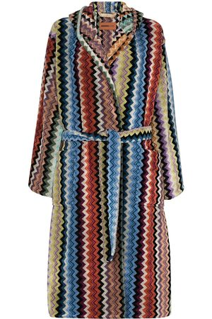 Missoni Adam hooded belted robe