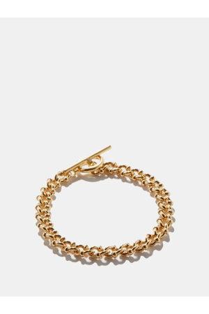 All Blues Dna T-bar 18kt -plated Bracelet - Mens