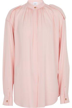 Burberry Silk crêpe blouse