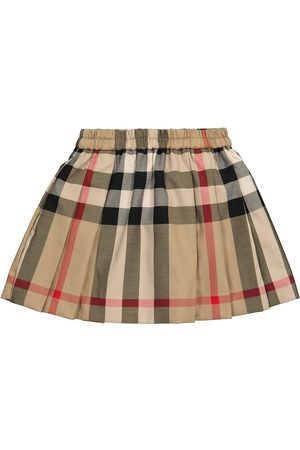 Burberry Baby Vintage Check stretch-cotton skirt