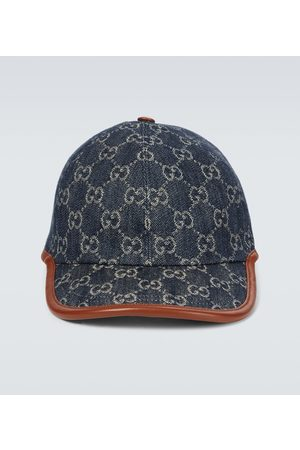 Gucci GG denim baseball cap