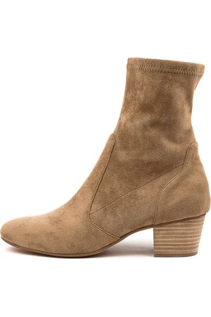Mollini Karmony Mo Lt Taupe Boots Womens Shoes Casual Ankle Boots