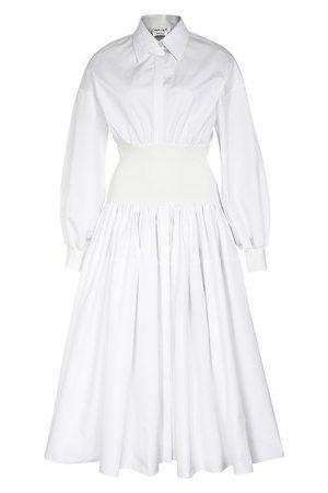 Alexander Mcqueen Women Casual Dresses - Hybrid shirt dress