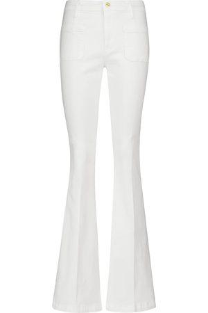 Frame Le Brigette distressed denim shorts