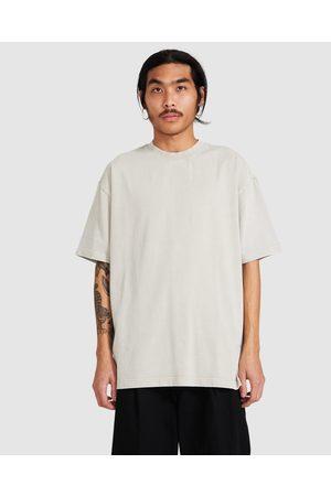 Blacknoise/Whiterain Men Short Sleeve - Killdie T-shirt Taupe