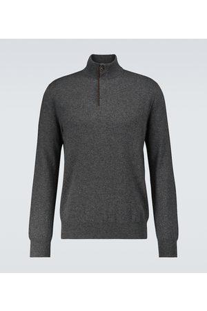 Ermenegildo Zegna Half-zipped cashmere sweater