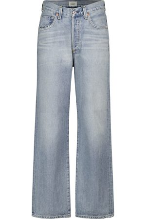 Citizens of Humanity Elle high-rise wide-leg jeans