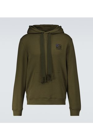 Loewe Men Hoodies - Anagram hooded sweatshirt