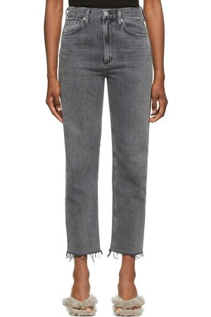 Citizens of Humanity Daphne Crop High-Rise Stovepipe Jeans
