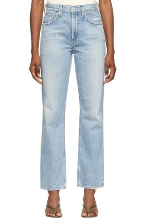 Citizens of Humanity Women Boyfriend - Daphne High-Rise Stovepipe Jeans