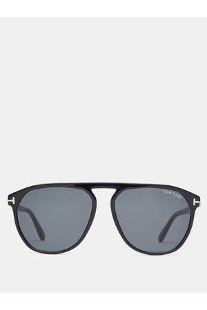 Tom Ford Eyewear - Jasper Square Acetate Sunglasses - Mens
