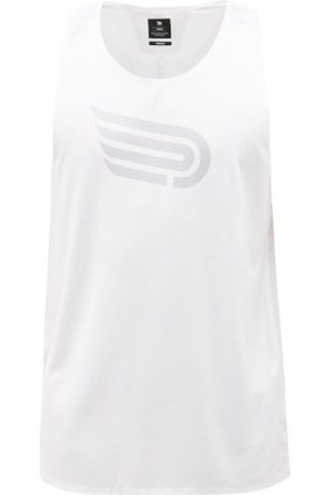 RAF SIMONS R-embroidered Roll-neck Jersey Top - Mens