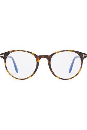 Tom Ford Eyewear - Round Tortoiseshell-acetate Glasses - Mens