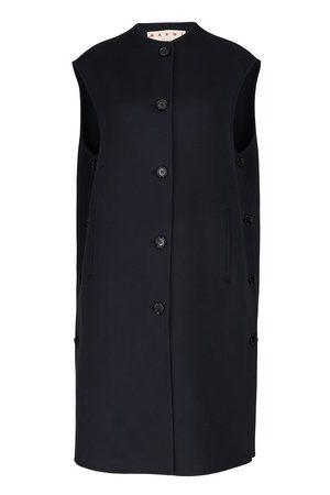 Marni Longline wool and cashmere cardigan