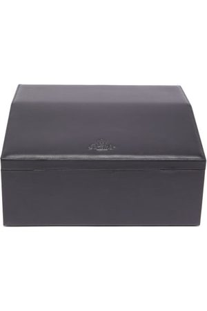 Pineider Passion Leather Watch Box - Mens