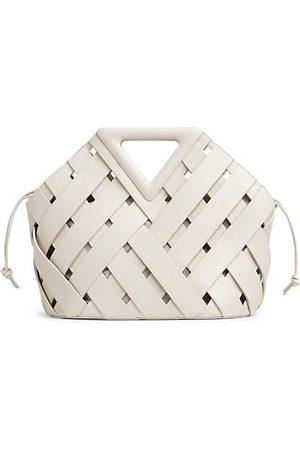 Bottega Veneta Tote Bags - Triangle Basket Weave Leather Tote