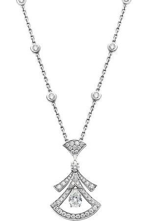 Bvlgari Divas' Dream 18K & Diamond Pendant Necklace