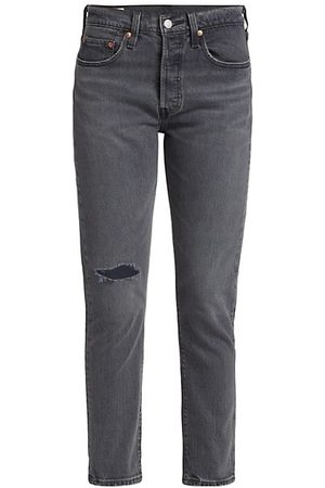 Levi's 501® High-Rise Distressed Skinny Jeans
