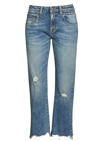 R13 Women Boyfriend - Straight-Leg Boyfriend Jeans