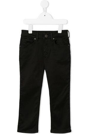 Emporio Armani Kids Boys Straight - Straight-leg jeans