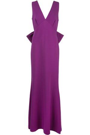 Sachin & Babi Women Evening Dresses - Plunge gown