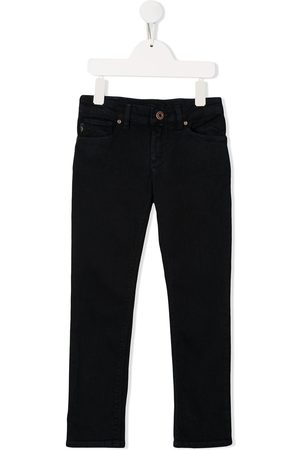 Emporio Armani Kids Boys Skinny - Mid-rise skinny jeans