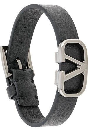 VALENTINO GARAVANI Men Bracelets - VLOGO leather bracelet