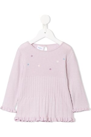 Familiar Sweaters - Long-sleeve floral top