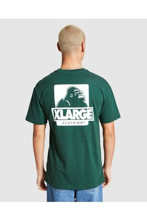 X-Large 91 Text T-shirt Forest