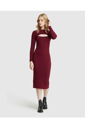Oxford Kirsten Cut Out Dress - Bodycon Dresses Kirsten Cut Out Dress