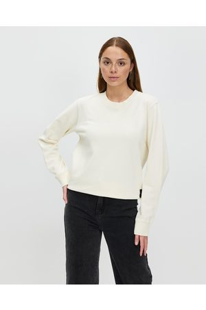 All About Eve Washed Crew - Sweats (Natural) Washed Crew